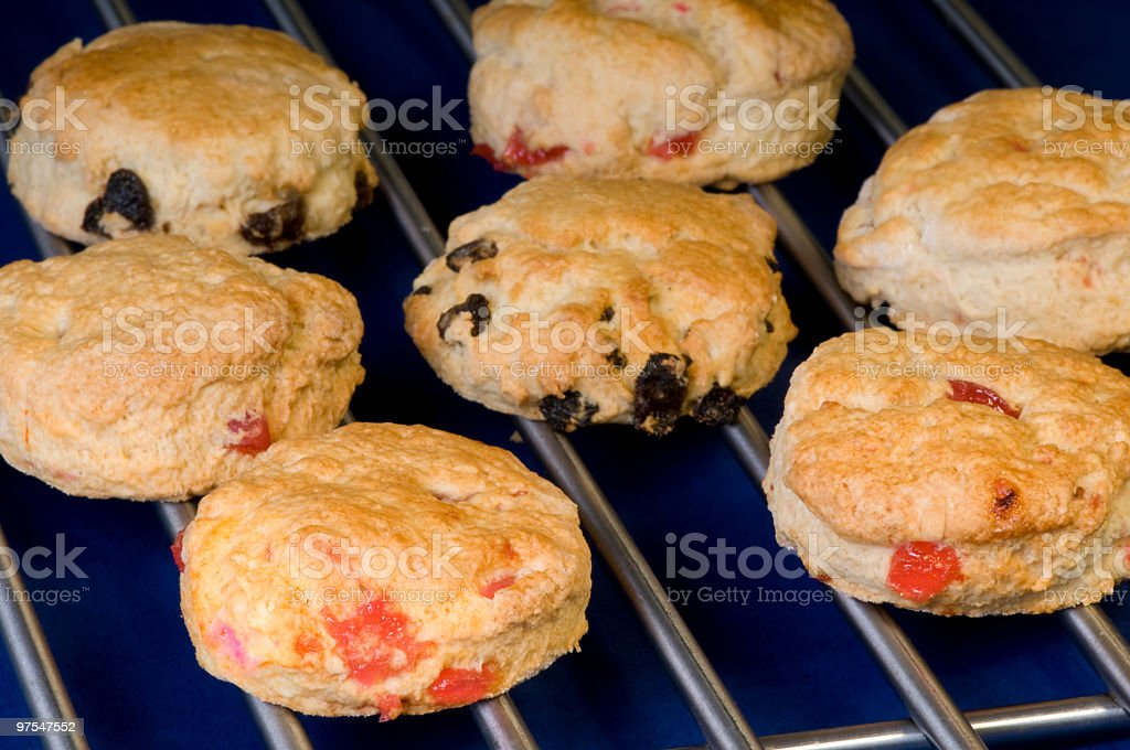 Assorted scones royalty-free stock photo