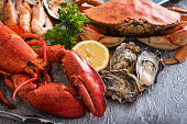 assorted seafood image