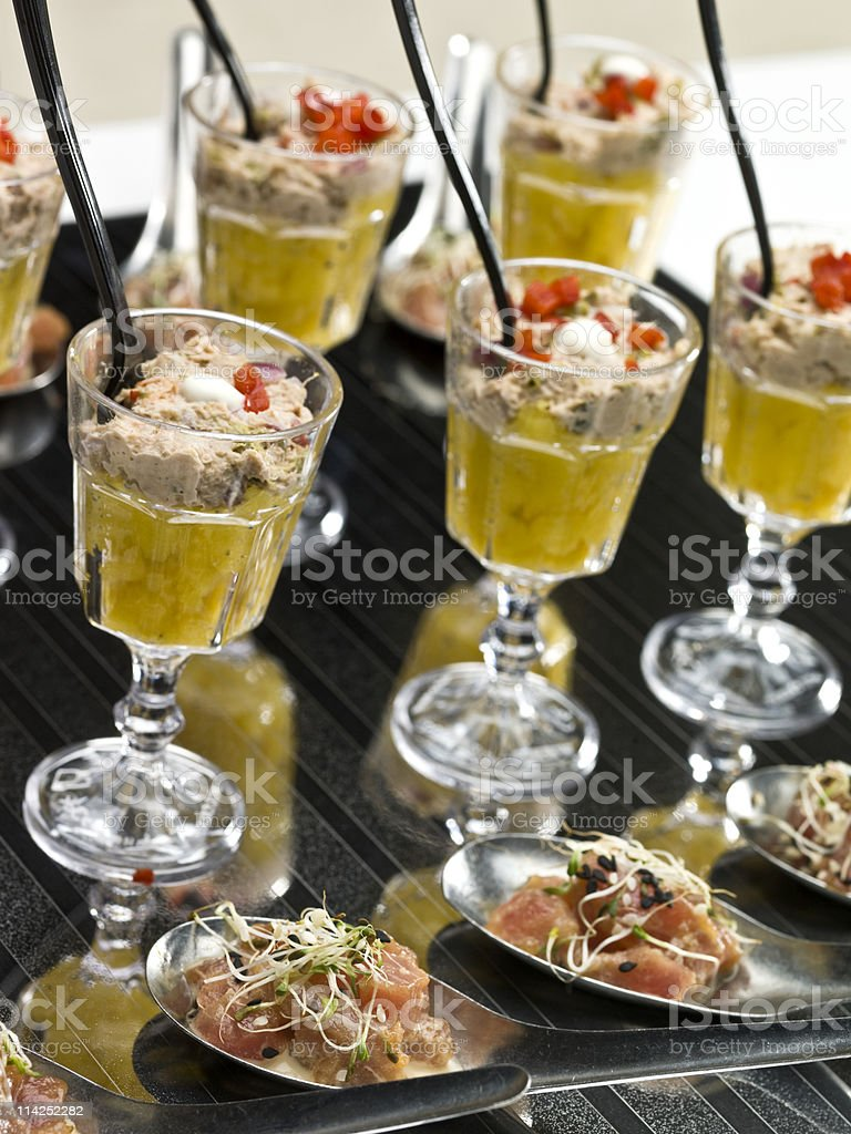 Assorted snacks royalty-free stock photo