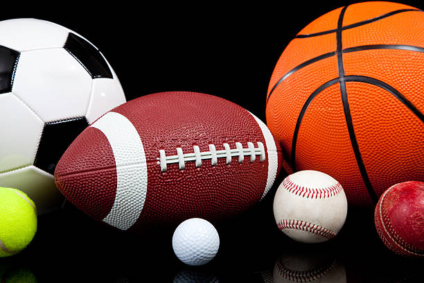 Athletic Backgrounds: Sports Equipment Pictures, Images And Stock Photos