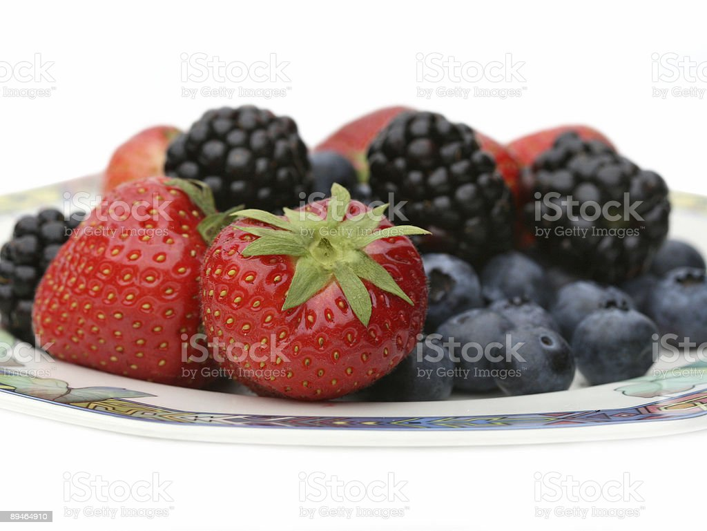 Assorted summer fruit royalty-free stock photo