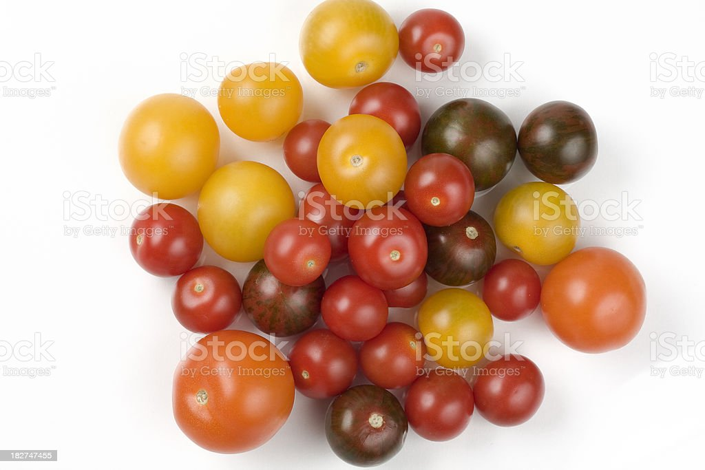 Assorted Tomatoes royalty-free stock photo