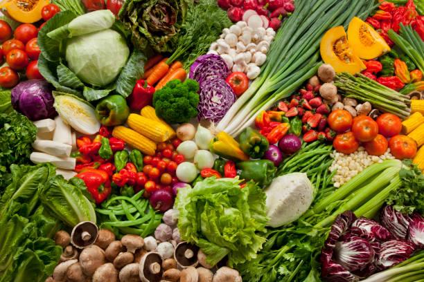 różne warzywa - duża grupa obiektów zdjęcia i obrazy z banku zdjęć