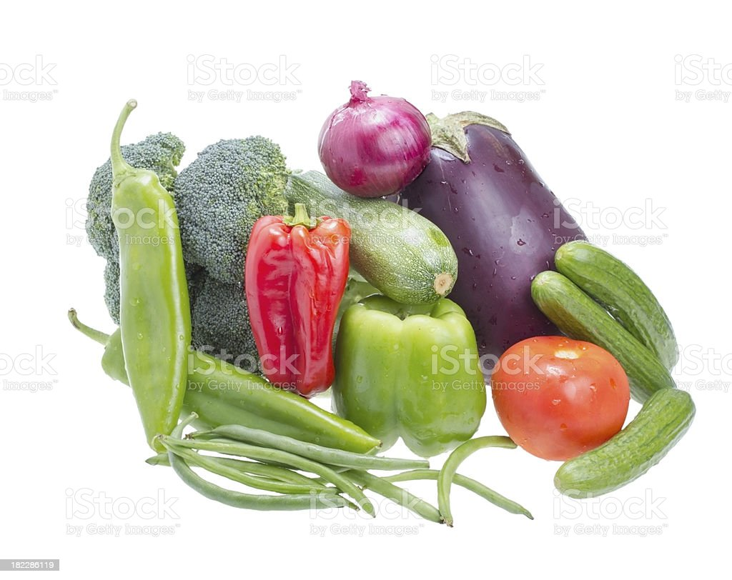 Assorted vegetables. royalty-free stock photo