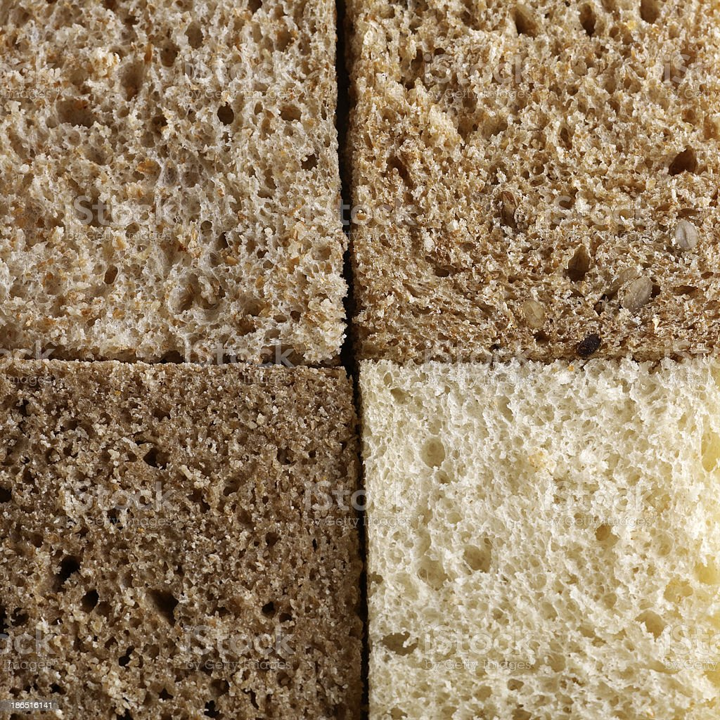 assortment of baked bread royalty-free stock photo