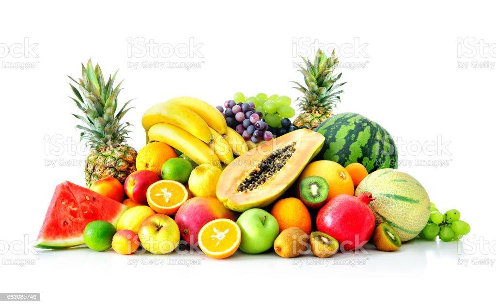 Assortment of exotic fruits foto de stock royalty-free