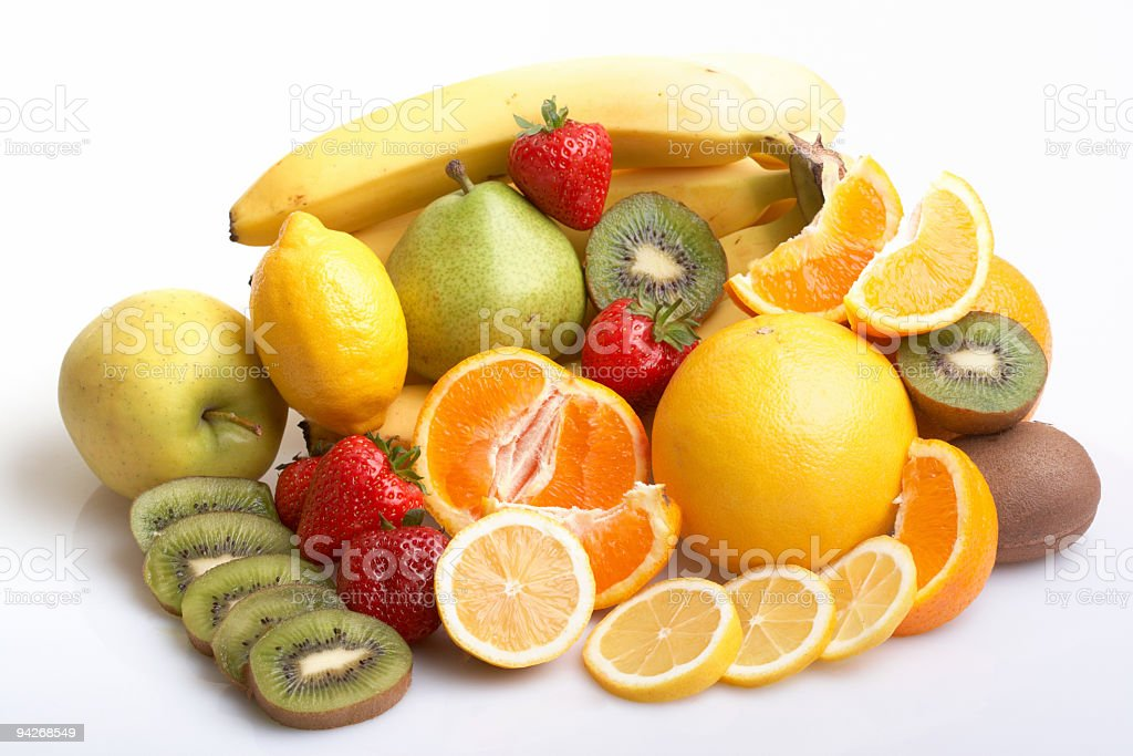Assortment of fruits royalty-free stock photo