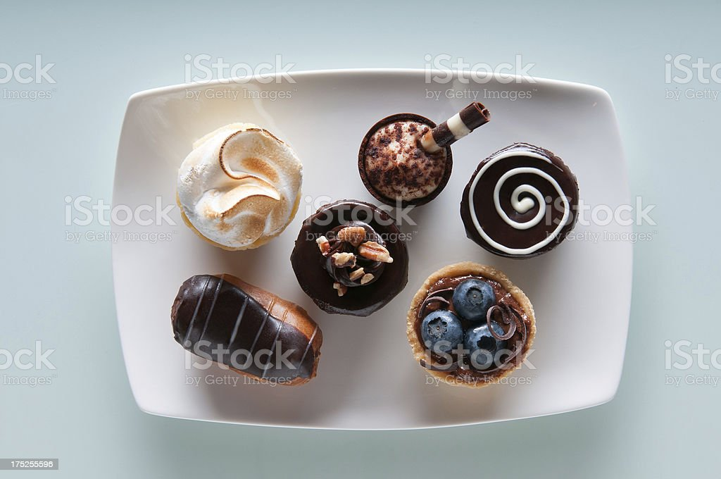Assortment of Mini Desserts . stock photo