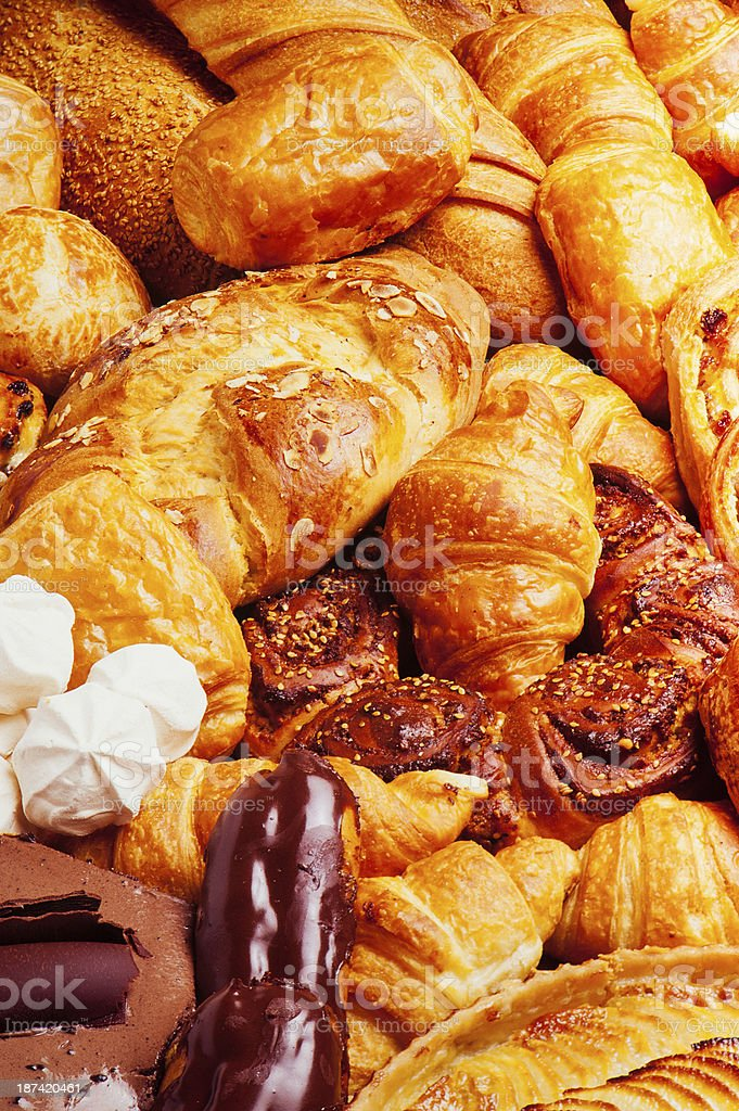 assortment of pastries royalty-free stock photo