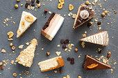 ケーキ、コピー領域の品揃え