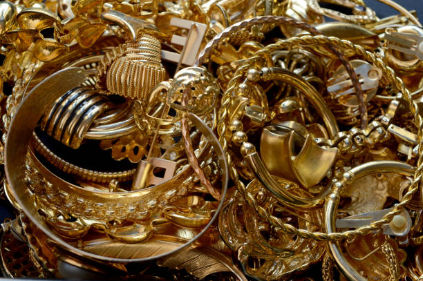 Assortment of Recovered Gold Jewelry