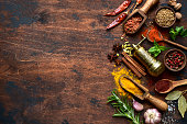 istock Assortment of spices and herbs 1189810411