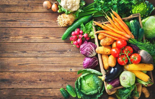 新鮮蔬菜的種類 - 清新 個照片及圖片檔