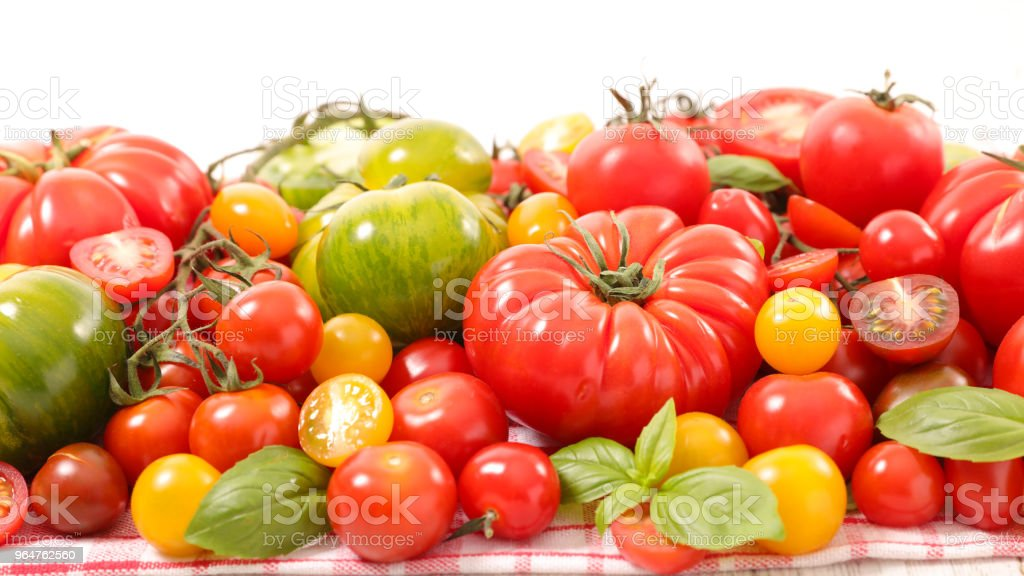 assortment of tomatoes royalty-free stock photo