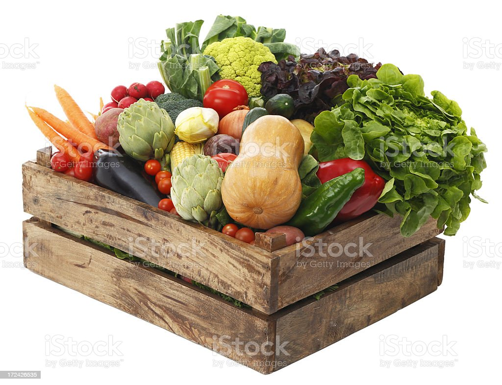 Assortment of vegetables royalty-free stock photo