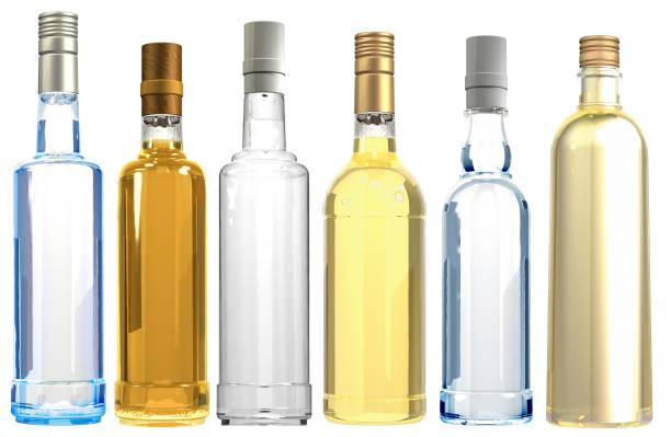 3 D Assoted bouteilles - Photo