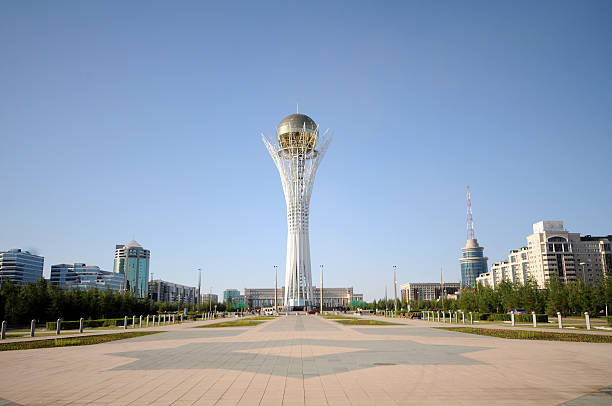 Astana City View stock photo