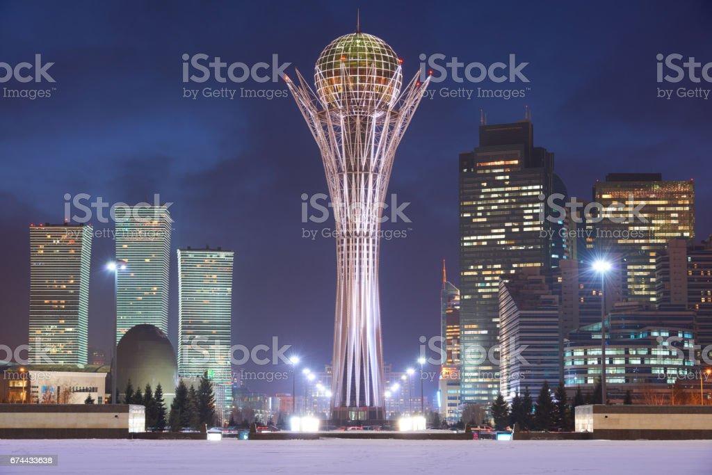 Astana cityscape stock photo