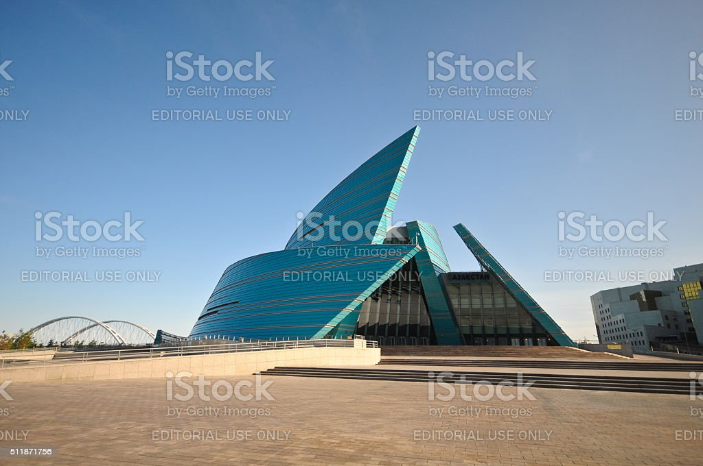 Astana - Concert Hall stock photo