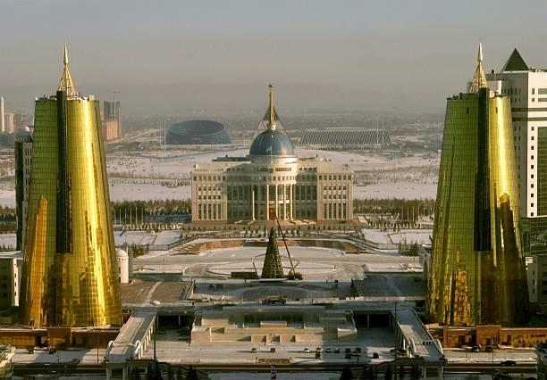 Astana Kazakhstan landmark sightseeing stock photo
