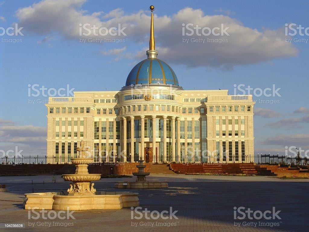 Astana President Palace stock photo