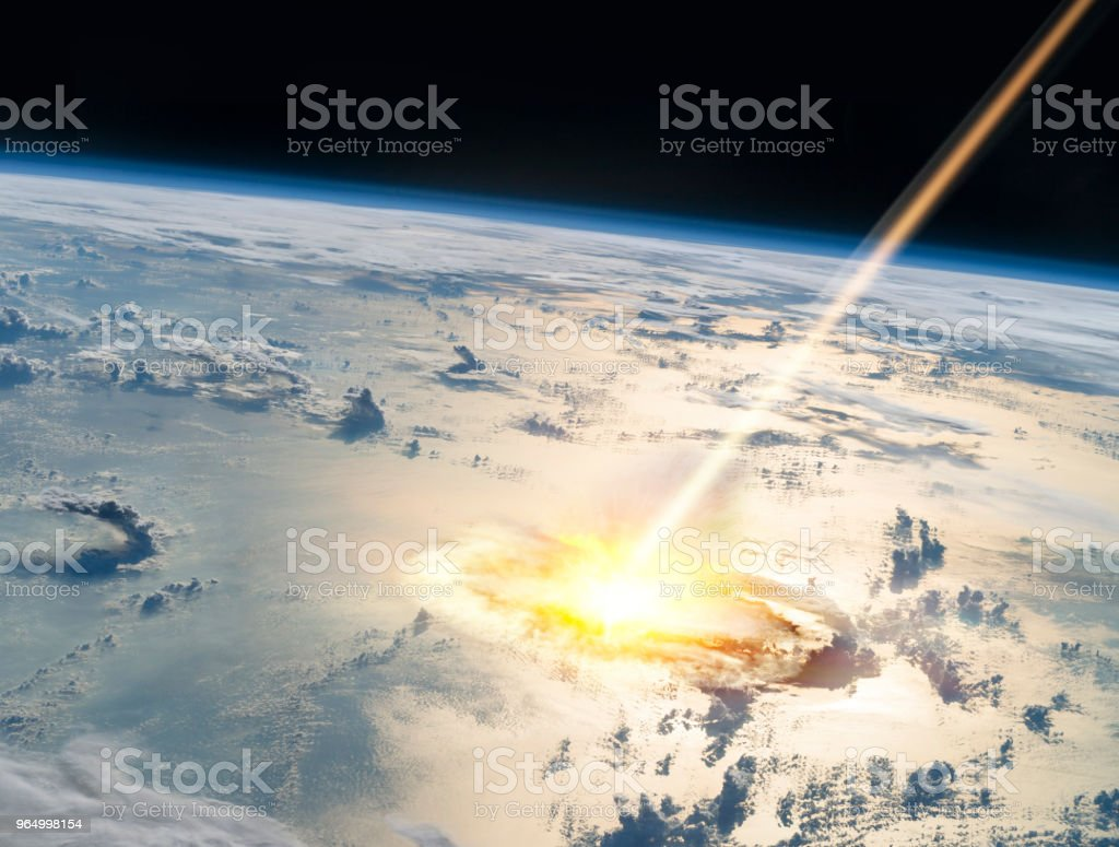 Asteroid Auswirkungen – Foto