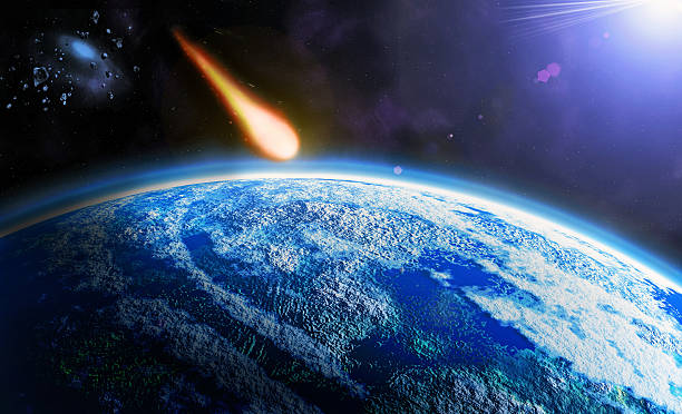 asteroid stock photo