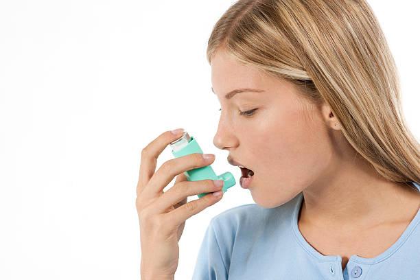 Asthma leidenden – Foto