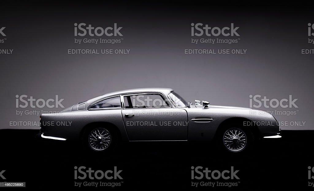 Aston Martin B5 Model Low Key stock photo
