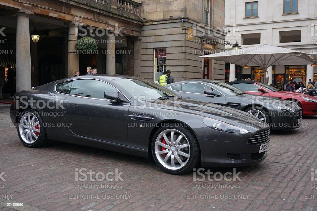Aston Martin Stock >> Aston Martin Cars At Bond In Motion Exhibition Stock Photo