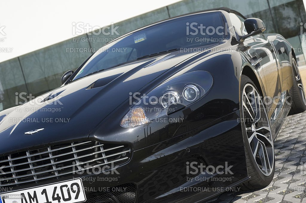 Aston Martin DB 9 Convertible stock photo