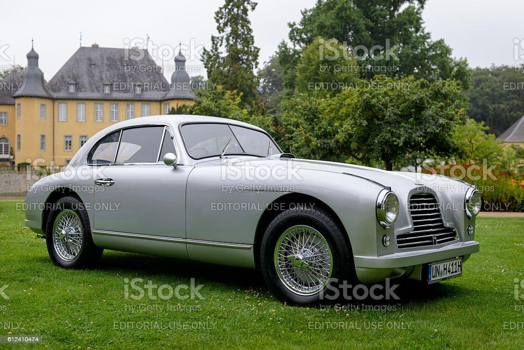 Aston Martin DB2 classic British sports car stock photo