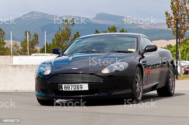 Aston Martin Db9 From 2005 Stock Photo - Download Image Now
