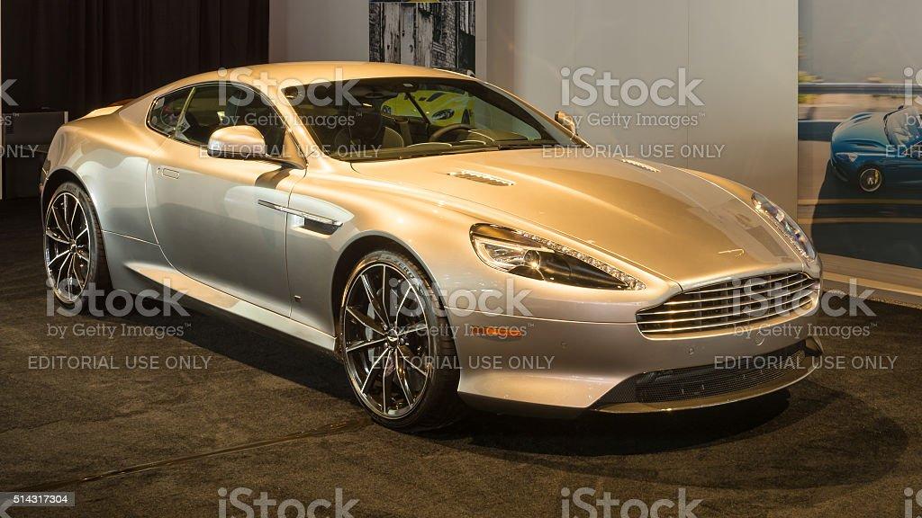 2016 Aston Martin DB9 stock photo