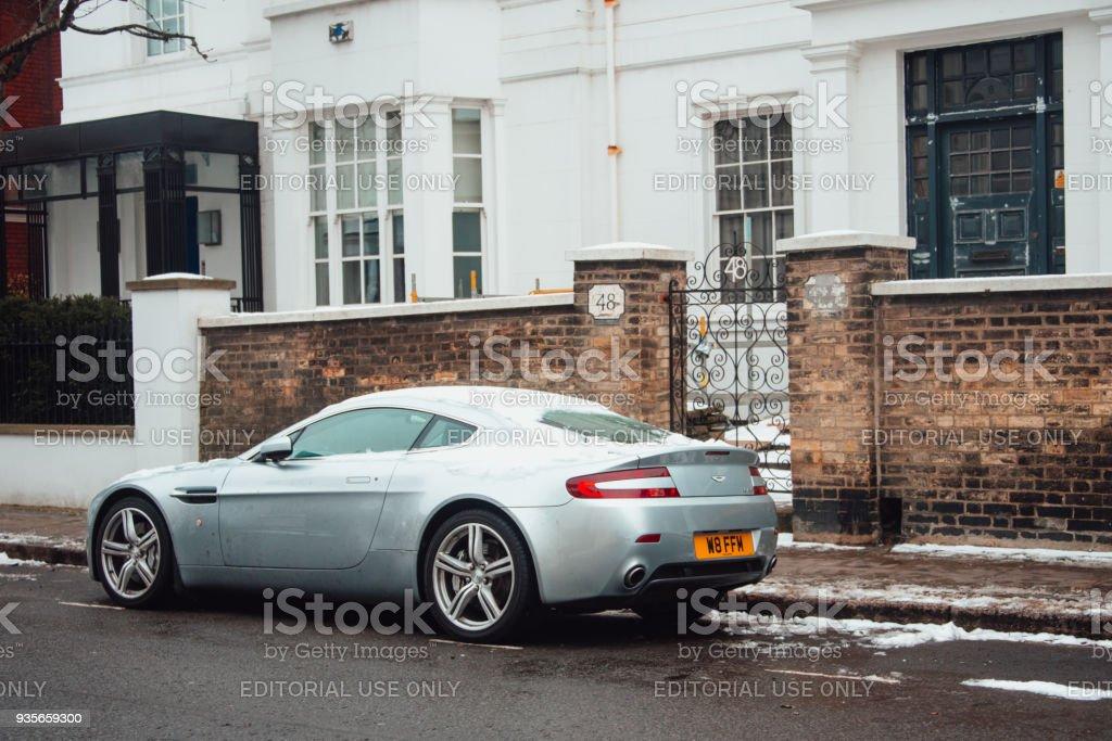 Aston Martin Stock >> Aston Martin Db9 Stock Photo Download Image Now