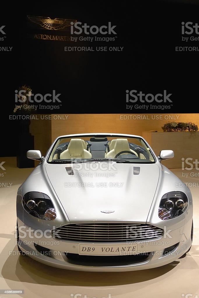 Aston Martin DB9 Volante stock photo