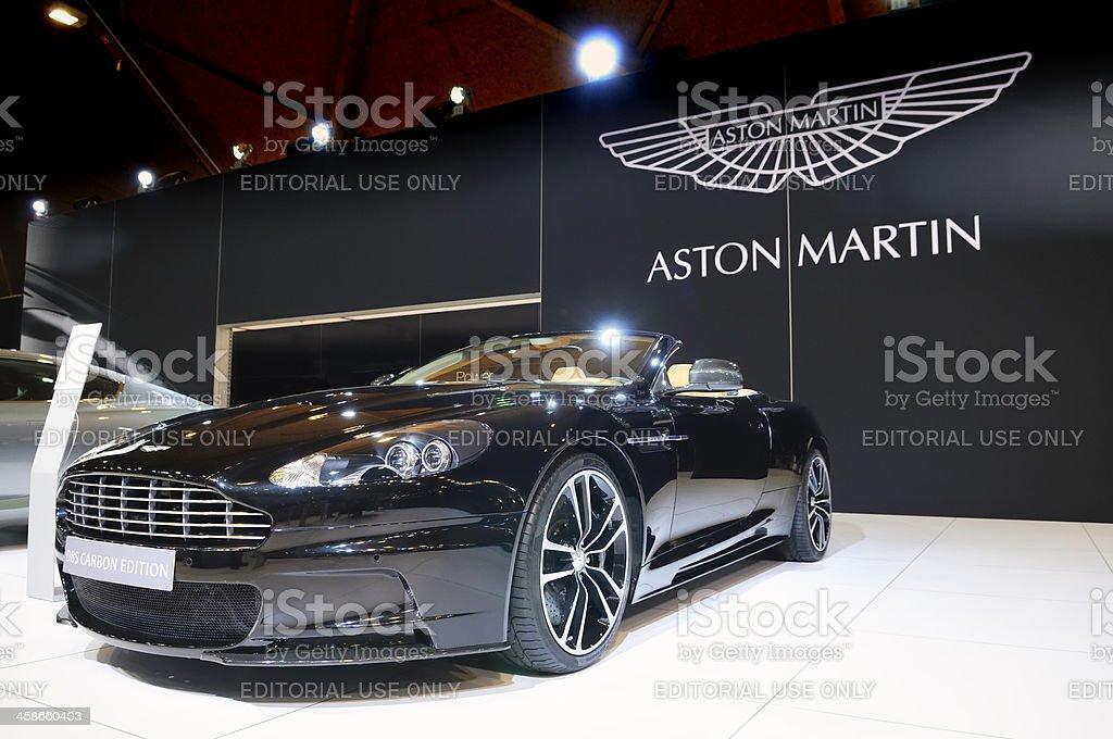 Aston Martin DBS stock photo