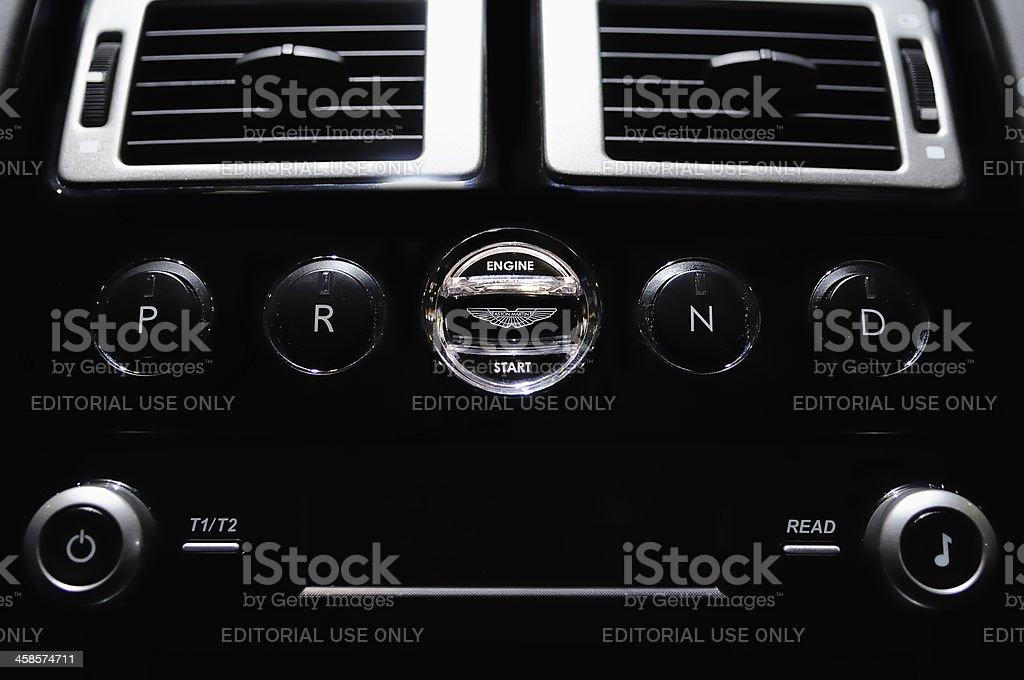 Aston Martin Engine Start Stock Photo Download Image Now Istock