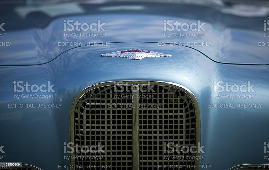 Aston Martin Lagonda Rapide royalty-free stock photo