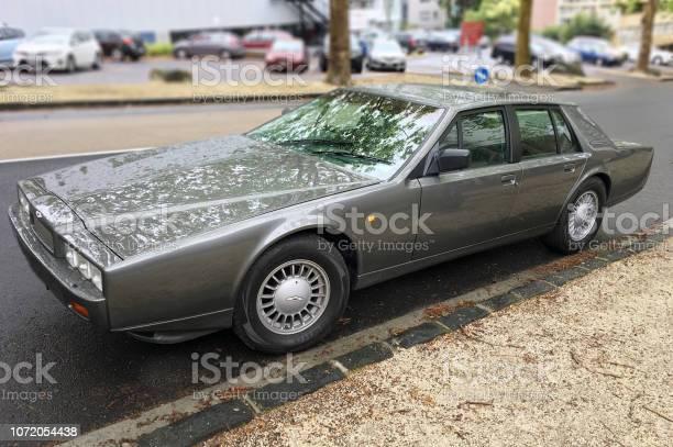 Aston Martin Lagonda Serie 4 Vordere Ecke Stockfoto Und Mehr Bilder Von Alt Istock