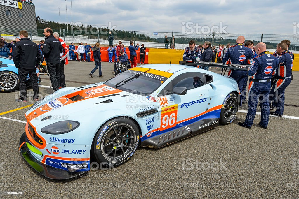 at the start grid before the race start of the 2015 6 Hours of...