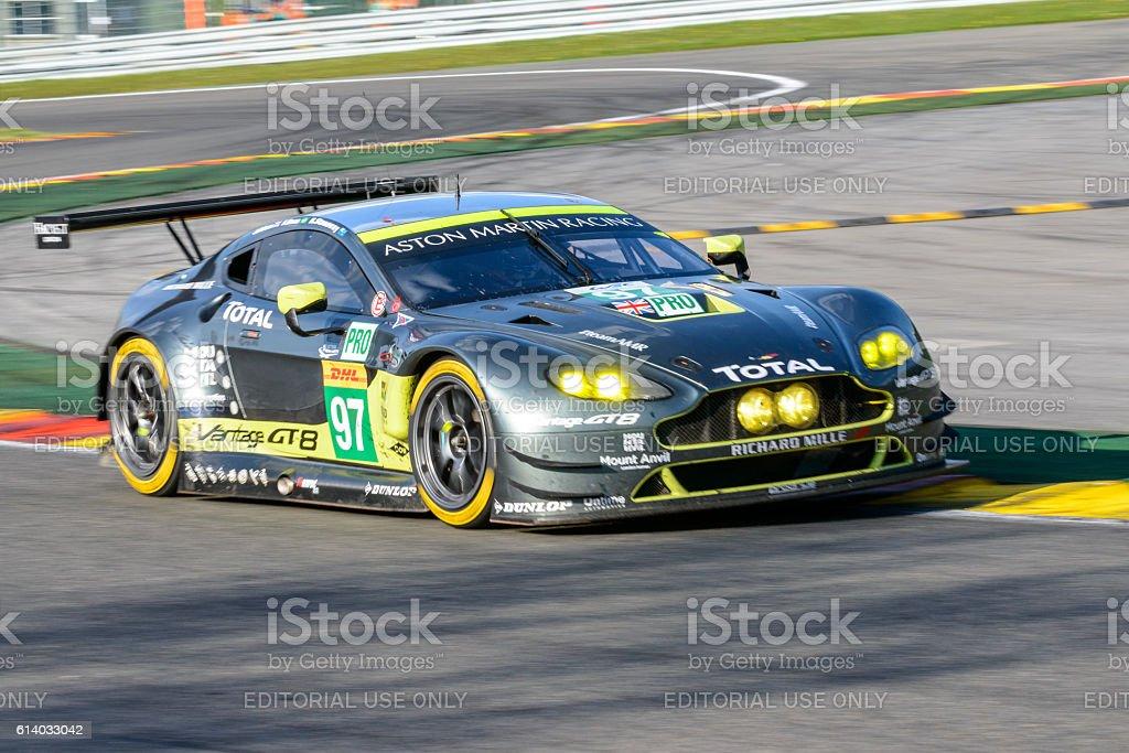 Aston Martin Racing Aston Martin Vantage V8 Race Car Stock Photo Download Image Now Istock