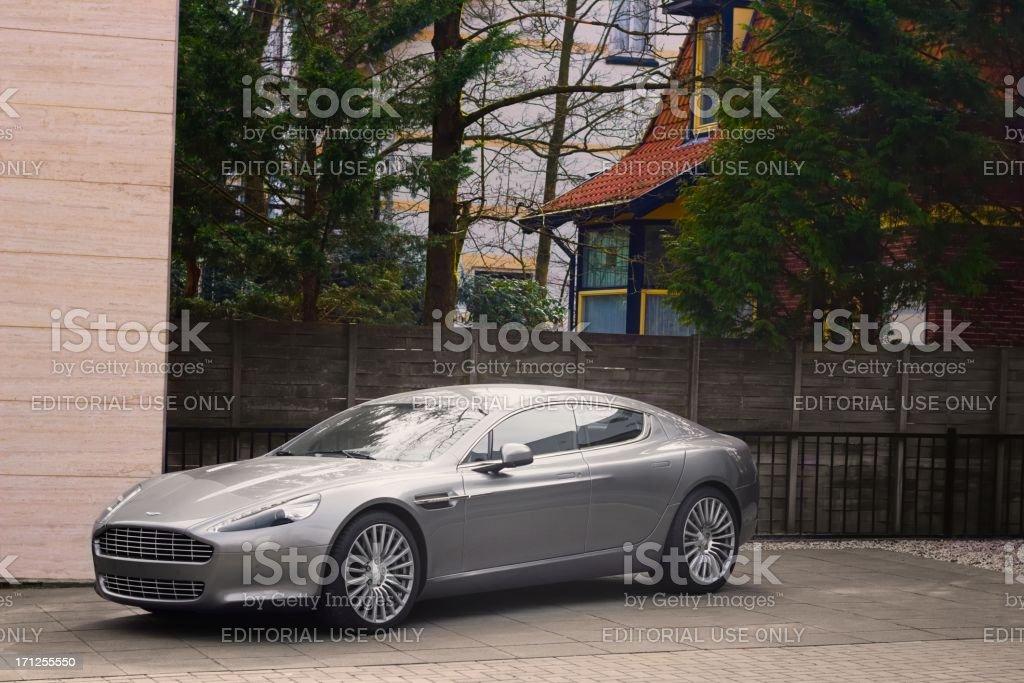 Aston Martin Rapide luxury saloon car stock photo