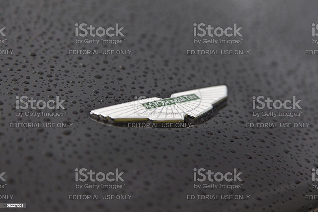 Aston Martin Sports Car stock photo