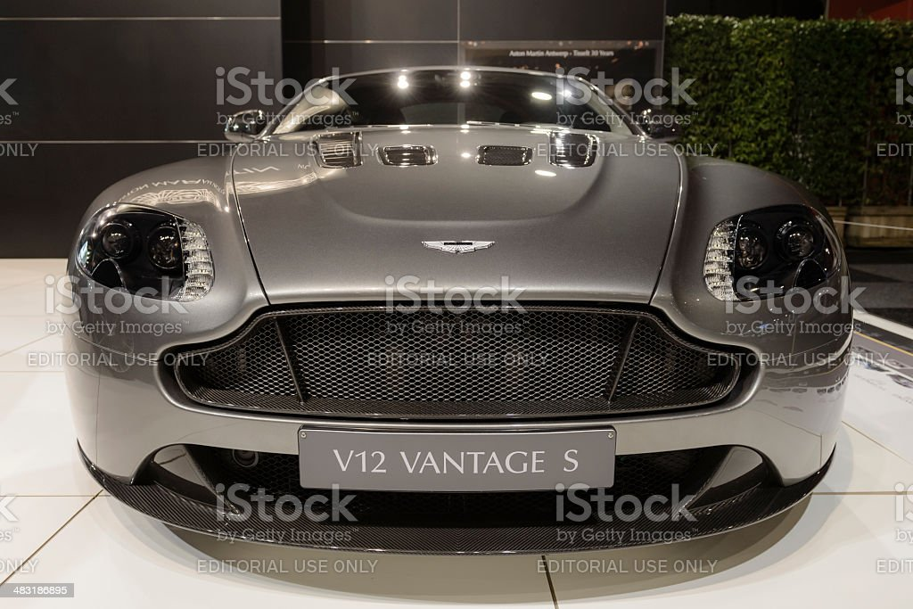 Aston Martin V12 Vantage S stock photo