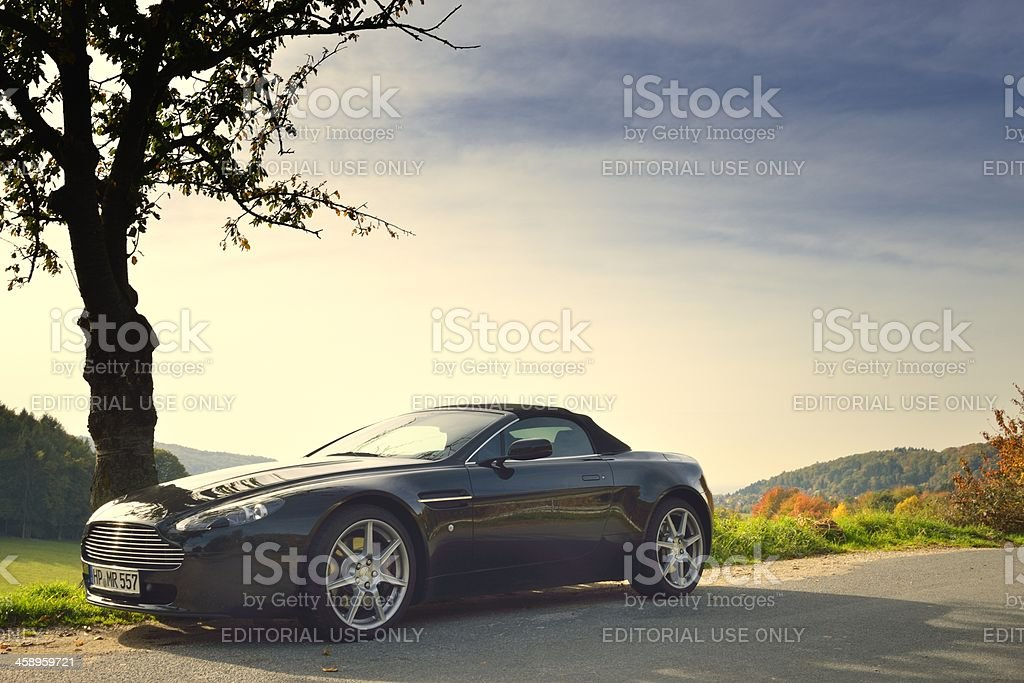 Aston Martin V8 Vantage Roadster stock photo