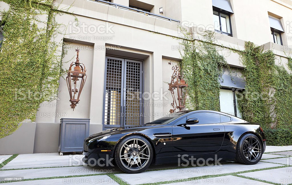 Aston Martin Vantage 2007 stock photo