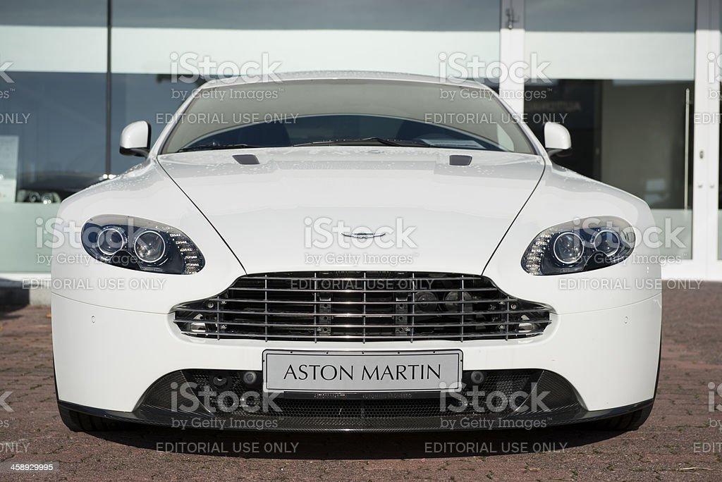 Aston Martin Vantage Coupe royalty-free stock photo