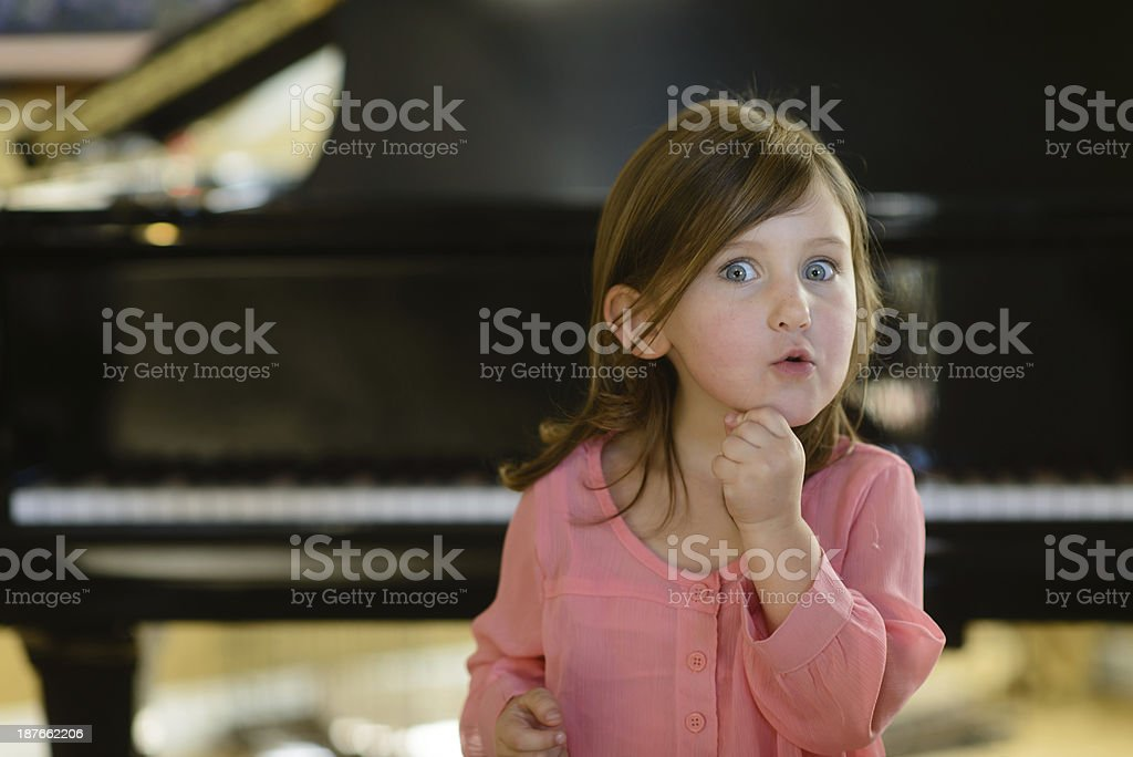 Astonishing Music royalty-free stock photo