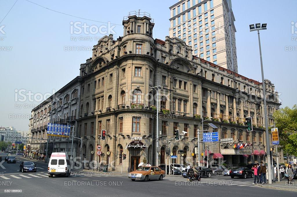 Astor House Hotel, Shanghai, China stock photo